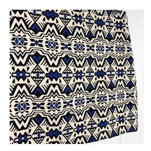 H&M Skirts - H&M tribal print skirt
